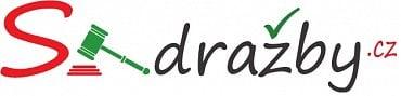 """Původní logo webu s-dražby.cz (2. 10. 2019). Písmeno """"S"""" je velmi podobné označení, které používá pro své projekty společnost Seznam.cz."""