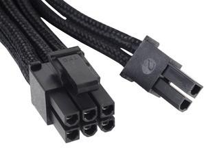 Tento šestipinový a dvoupinový konektor zajišťuje napájení grafických karet a procesorů