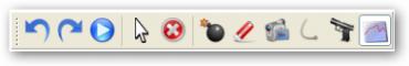 Nástrojová lišta General Toolbar.