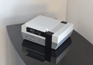 Krabička à la NES z 3D tiskárny