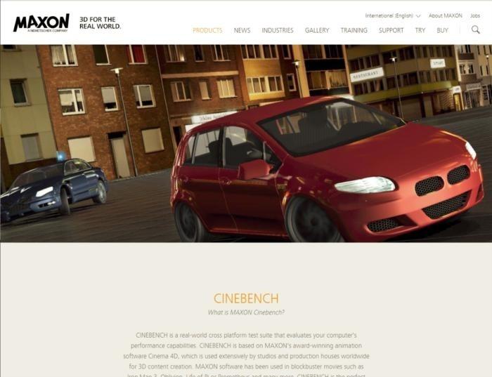 Zdarma dostupný program Cinebench R15 od firmy Maxon získáte v podobě archivu ZIP, který obsahuje několik tisíc souborů. Tento nástroj budeme používat pro některé testy