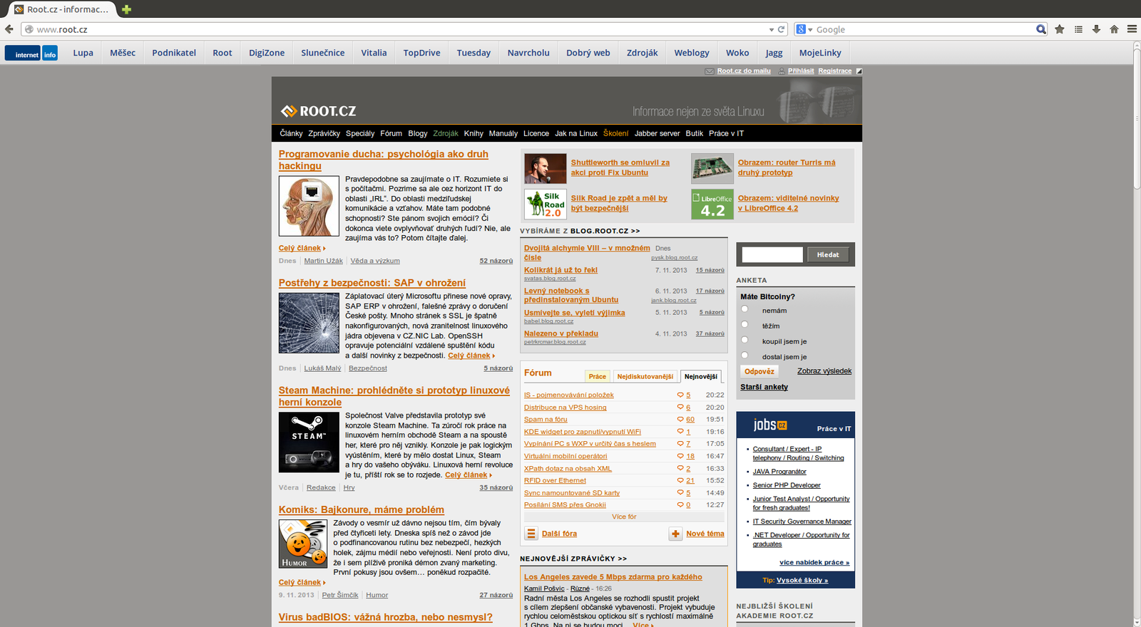 Firefox UX - nový vzhled Australis