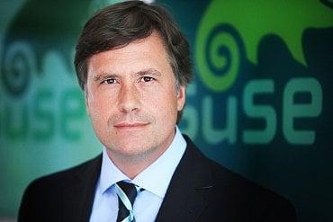 Nils Brauckmann, výkonný ředitel SUSE.