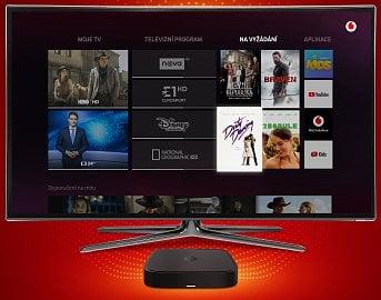 Česká Vodafone TV a její set-top box