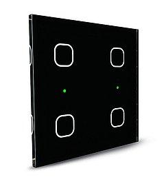 Letošní novinkou je také tzv. skleněný vypínač. Může mít 4, 6 nebo dokonce až 8 tlačítek.