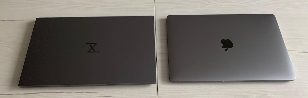 InfinityBook S14 vs MacBook Pro 13 2018