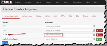 pfSense 2.3 WiFi - nastaveni