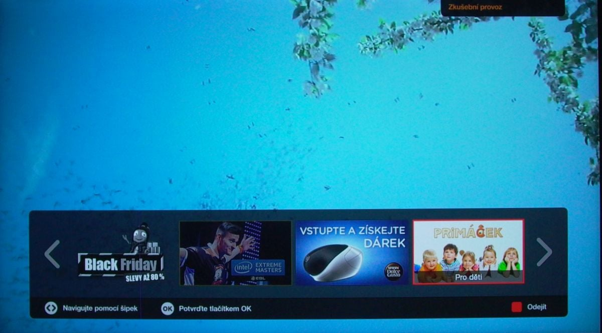 Sony KD-55XD8005 – HbbTV – Prima
