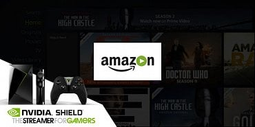 Amazon Video a Nvidia Shield TV (2017).