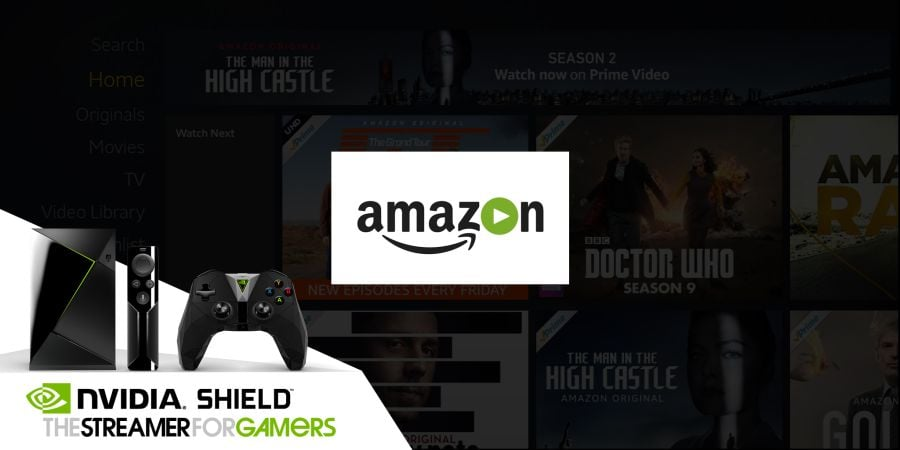 amazon prime on nvidia shield