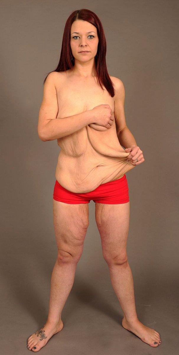Shodila polovinu své váhy