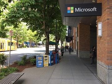 Sídlo Microsoftu v Seattlu