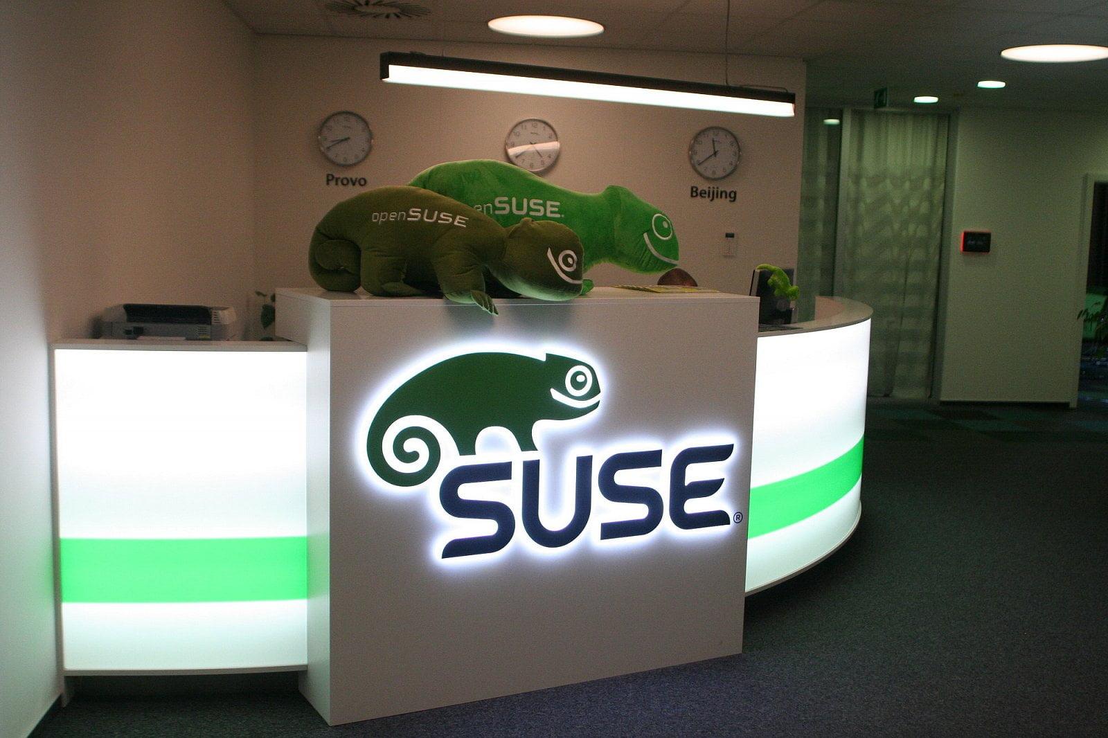 Návštěva v SUSE