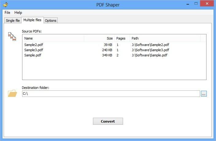 PDF Shaper dokáže převést PDF do RTF