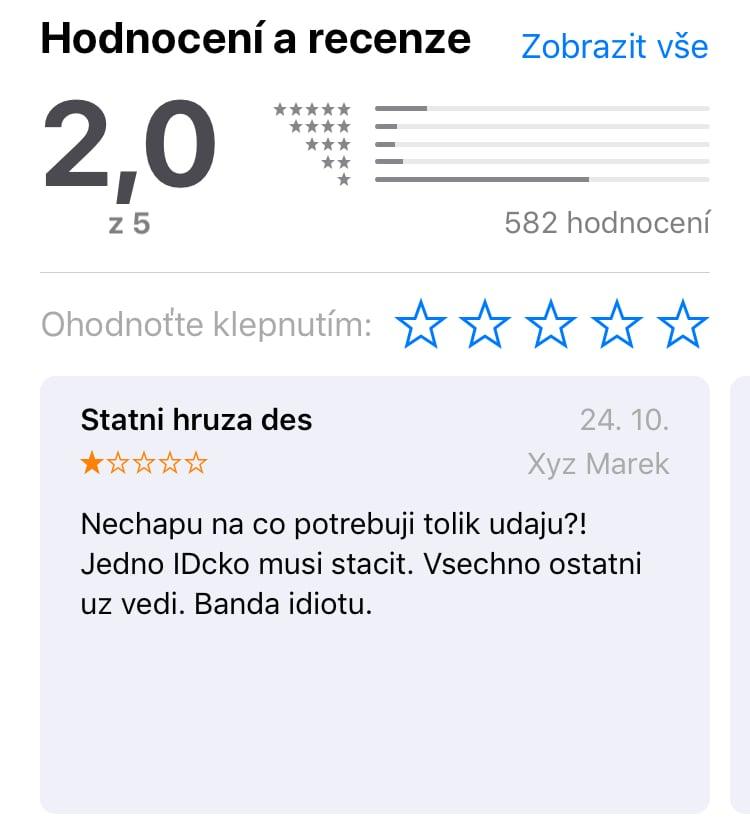 Mobilní aplikace Účtenkovky a její hodnocení