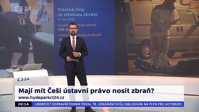 [aktualita] Vysílací rada zkoumá pořad České televize o držení střelných zbraní