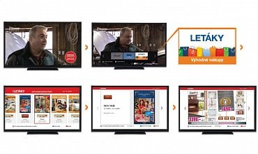 HbbTV aplikace Prima letáky.