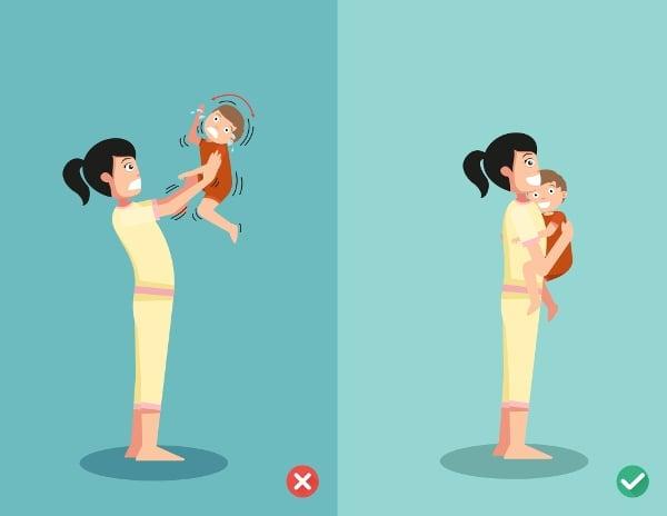 K třesení dítěte dochází obvykle ve snaze utišit jeho pláč