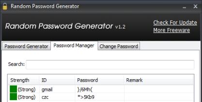 Pomocí Random Password Generator si vygenerujete bezpečná hesla a ještě si je navíc rovnou uložíte