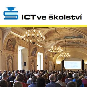 Logo ICT ve školství 2019