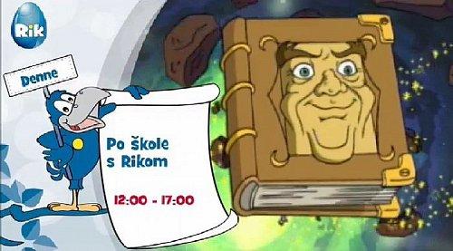 Ukázka ze zkušebního vysílání dětské slovenské televize Rik