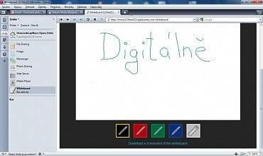 <p>Tabule pro grafické vyjádření s přáteli</p>