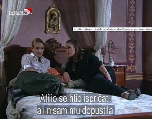 Ukázka z vysílání kanálu OBN určeného pro Bosnu a Hercegovinu