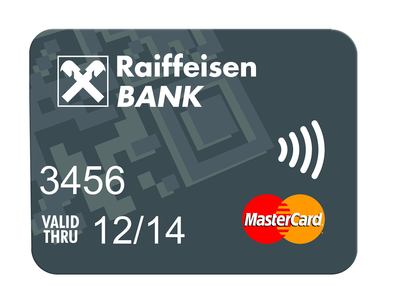 Raiffeisenbank debetní platební nálepka