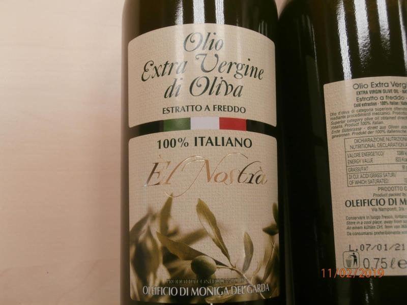 Falšované olivové oleje