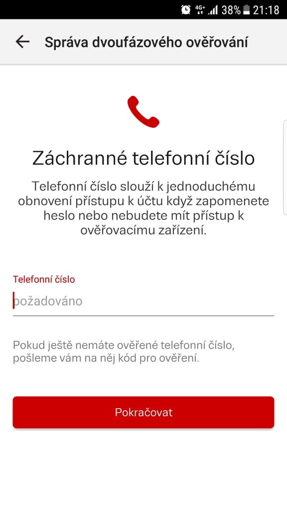 Seznam.cz a dvoufázové přihlašování