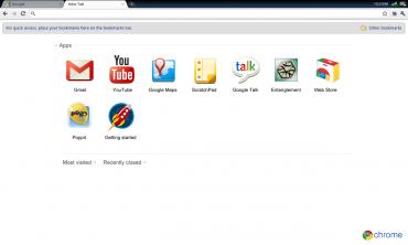 Google Chrome OS - jak vypadá pracovní prostředí prohlížeče převlečeného za operační systém