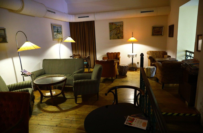 Kavárna Šlágr, úspěšný podnik v provorepublikovém stylu.