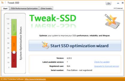 Tweak-SSD optimalizuje výkon SSD disku