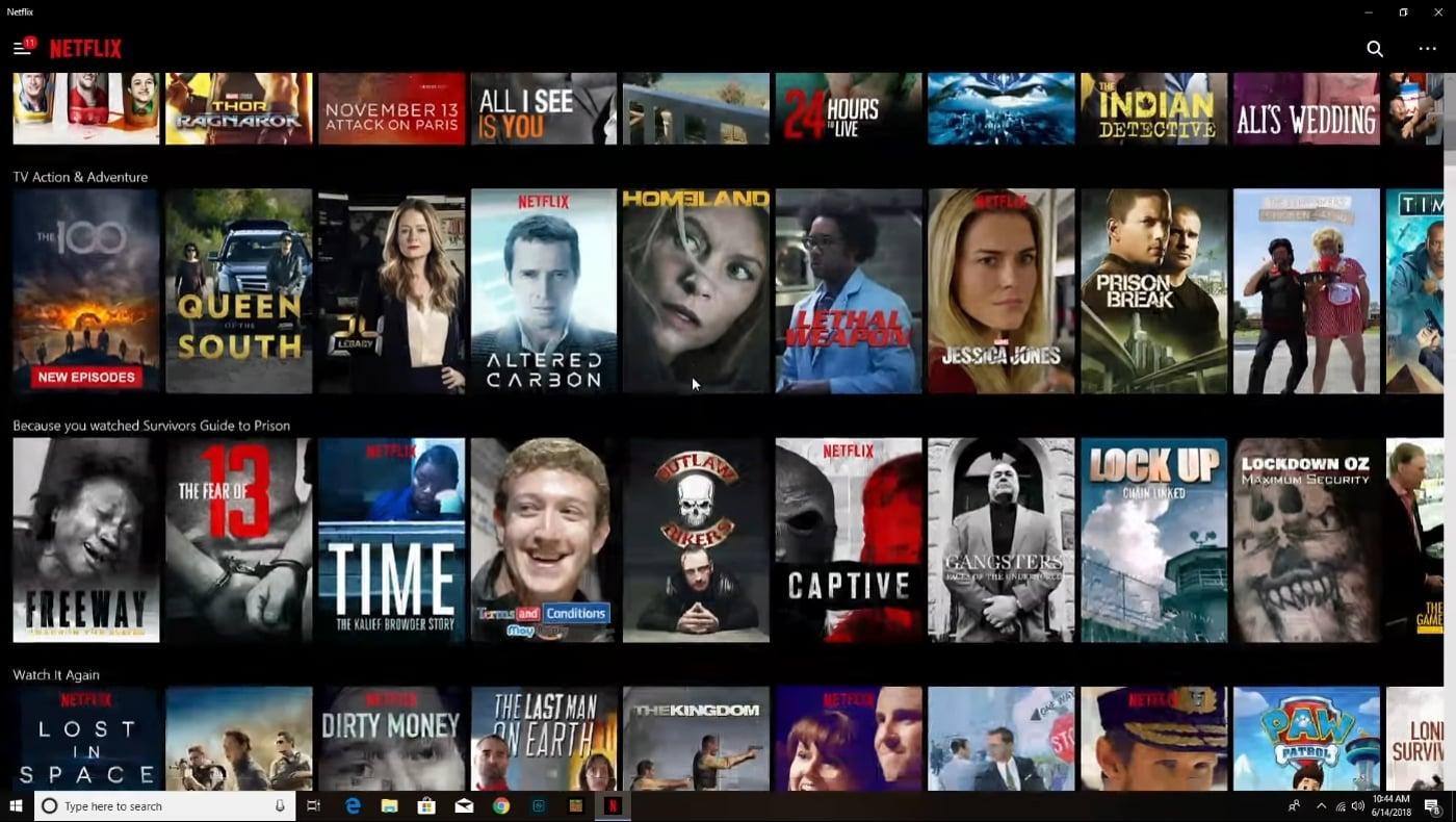 Beelink SII - Netflix a ukázky přehrávání (Redskull Studios)