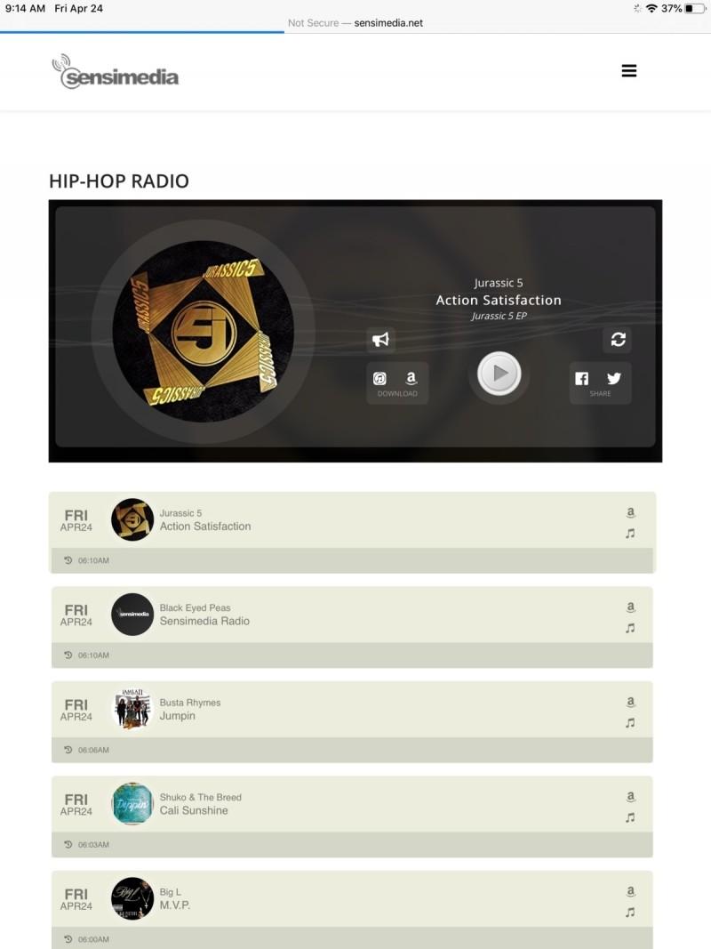 Zkuste Sensimedia Hip-Hop Radio – to bude jízda!