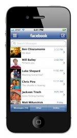 Facebook Messages na mobilu