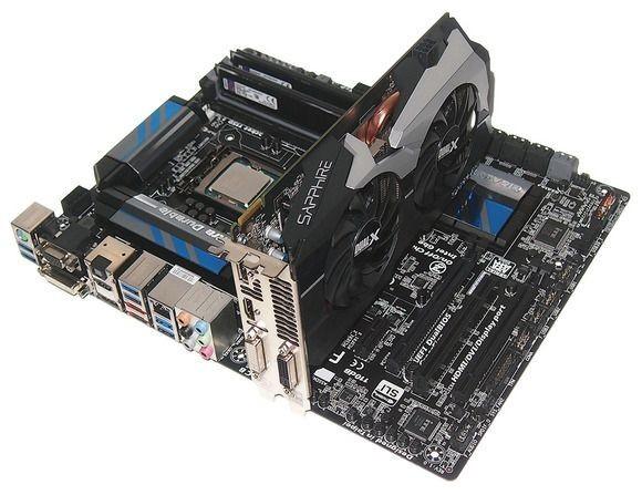 Základem naší počítačové sestavy s procesorem Haswell je procesor Intel Core i7-4770K, základní deska Gigabyte Z87X-UD3H, operační paměť Kingston HyperX a grafická karta Sapphire Radeon HD 7790 DualX.