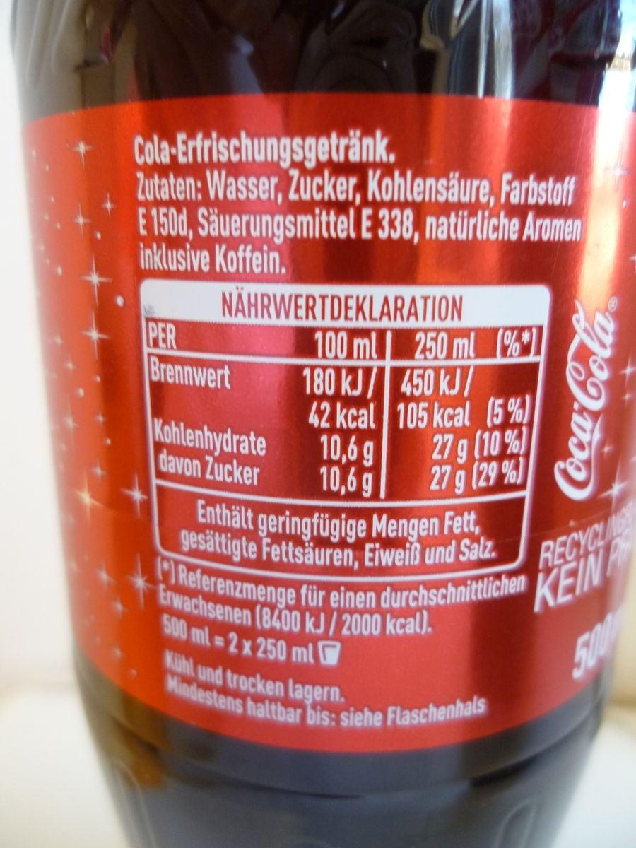 cola kohlenhydrate