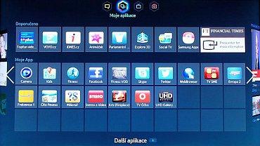 Jak vidíte, českých (a potažmo slovenských widgetů) má Samsung celou řadu a zdaleka nejde jen o videotéky a archivy!