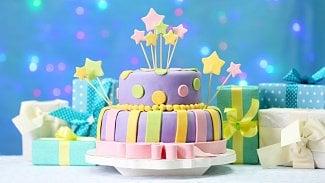 Narozeniny dort oslava