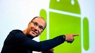 Otec Androidu se vrací, jeho firma bude vyrábět telefony