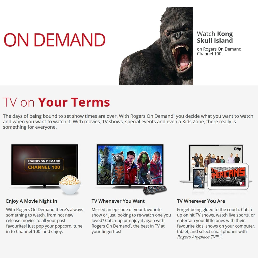 Rogers on Demand