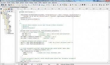 <p>PSPad po načtení projektu ze složky identifikuje použitý jazyk a zvýrazní potřebné výrazy. </p>