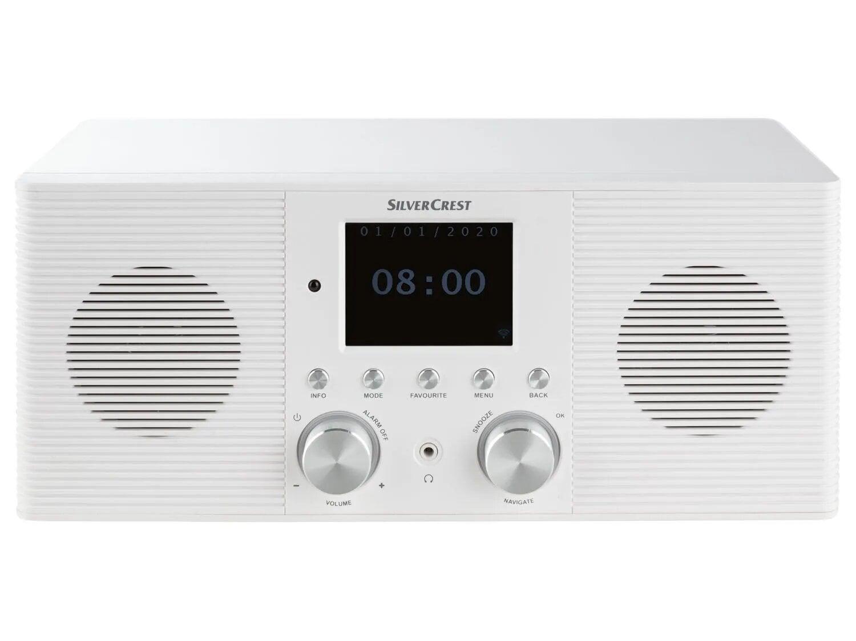 SILVERCREST Internetové a DAB+ rádio SIRD 14 E1