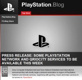 Blog Sony