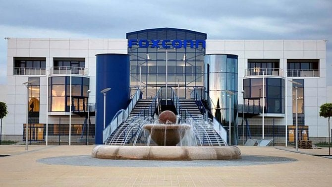 Foxconn v Česku navýšil tržby na 88 miliard. Pomáhá přesun výroby z Číny