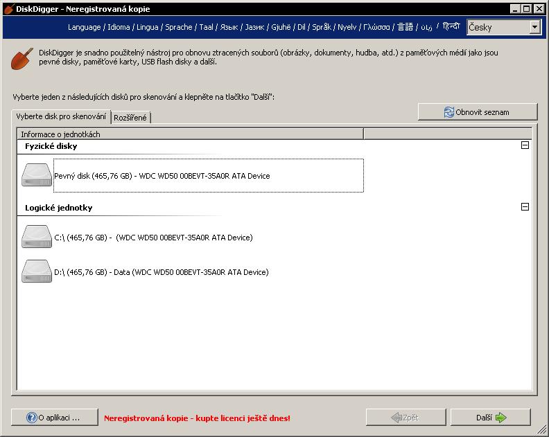 Pomocí DiskDigger dokážete obnovit omylem smazané soubory