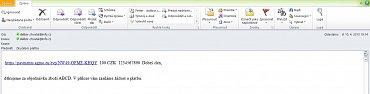 eSloženka je běžný e-mail s přímým odkazem k platbě