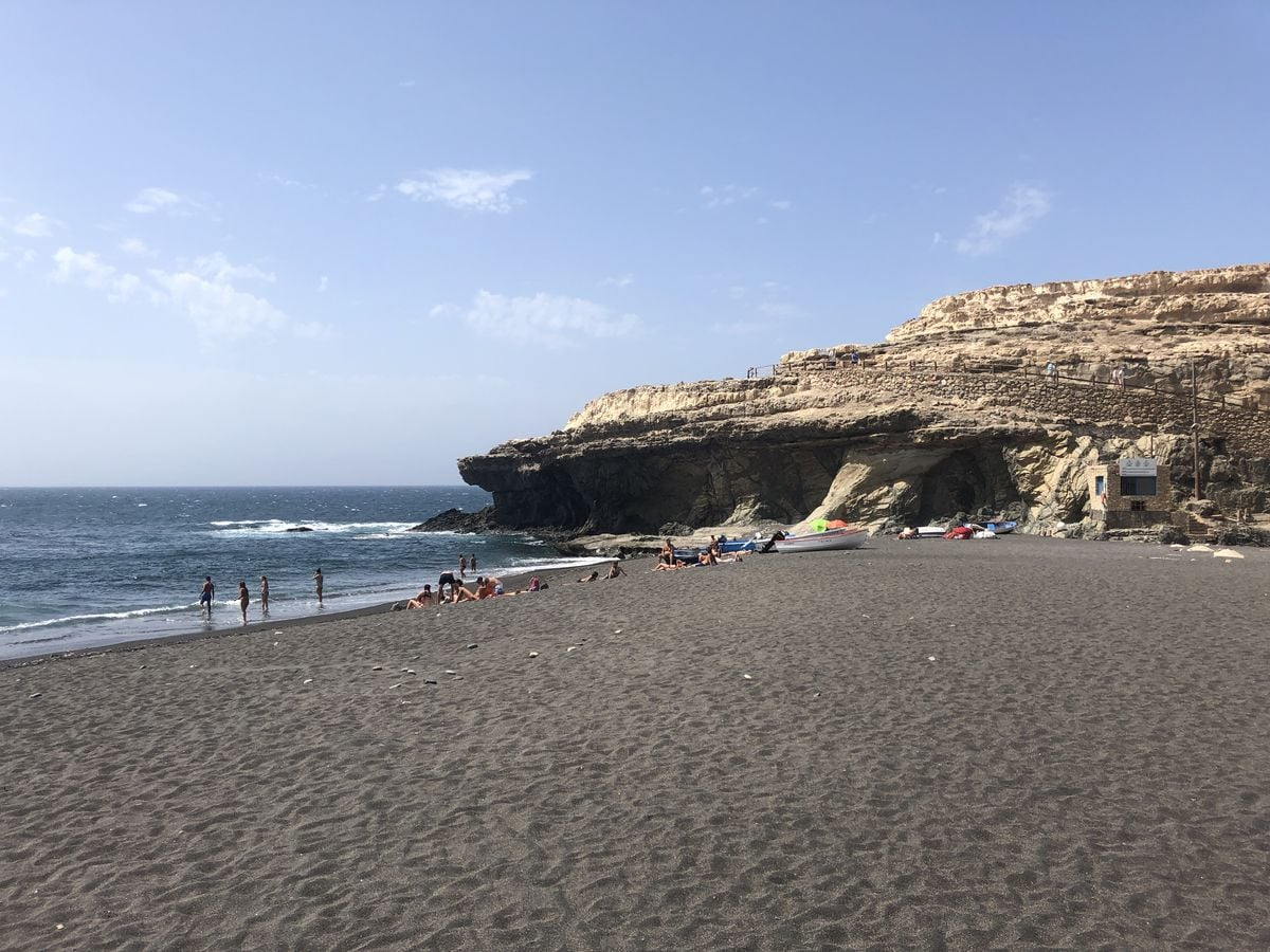 Na Kanárských ostrovech: pouštní ostrov Fuerteventura