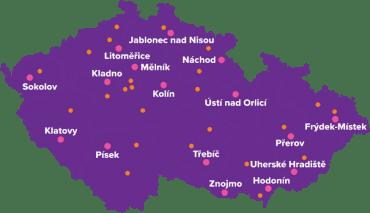 OZP otevírá 3. února 2020 jedenáct nových poboček po celé České republice.